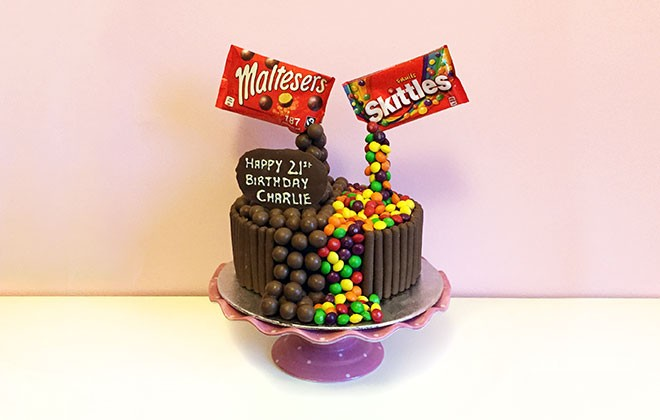 Anti Gravity Chocolate Cake